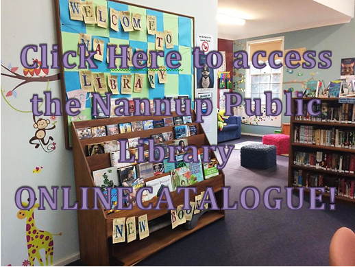 Nannup Public Library Online Catalogue