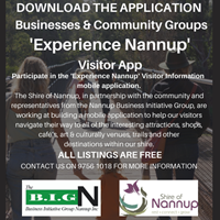 Experience Nannup - Mobile Application